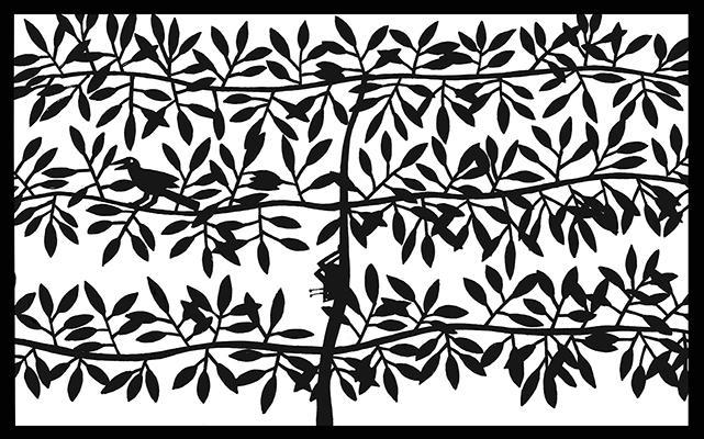 screen for a garden