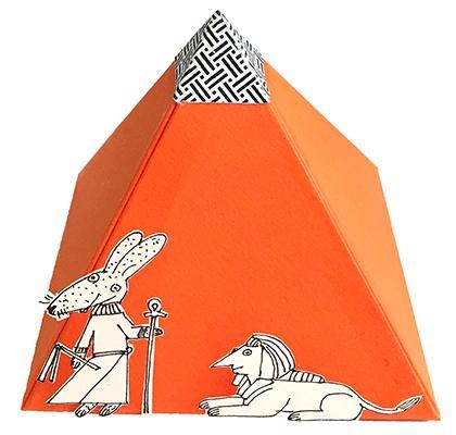 paper pyramid