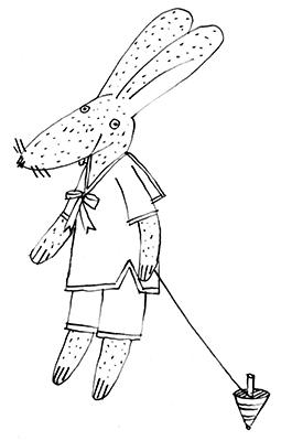rabbit sailor